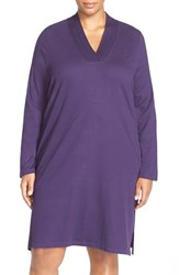 Plus Size Women's Lauren Ralph Lauren 'Emsworth' Cotton Nightgown