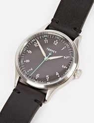 Tsovet Silver And Black Jpt Pw36 36Mm Watch