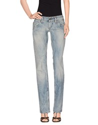 Sexy Woman Denim Denim Trousers Women Blue