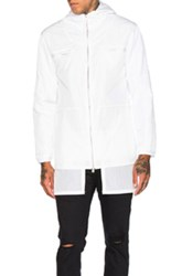 Stampd Layered Nylon Jacket In White