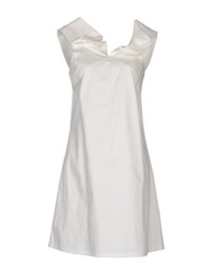 Andreaturchi Short Dresses White