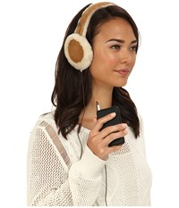 Ugg Classic Earmuff With Speaker Technology Chestnut Cold Weather Hats Brown