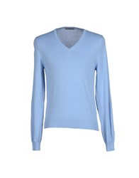 Become Knitwear Jumpers Men Sky Blue