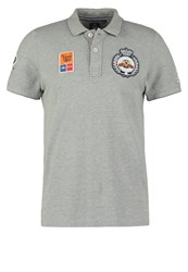 Gaastra Polo Shirt Grey Heather Light Grey