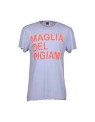 The Casual Approach By Maglia Short Sleeve T Shirts Sky Blue