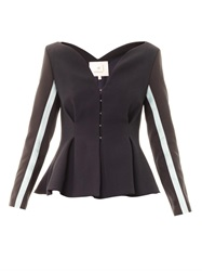 Roksanda Ilincic Selby Tailored Peplum Jacket