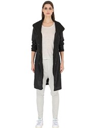 Transit Linen Duster Coat