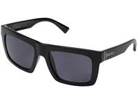 Von Zipper Donmega Polarized Black Gloss Vintage Grey Wildlife Sport Sunglasses Navy