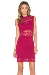 Nightcap Dixie Cutout Mini Dress Wine