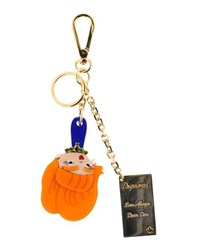 Dsquared2 Small Leather Goods Key Rings Women Orange