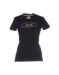 Kejo T Shirts Black