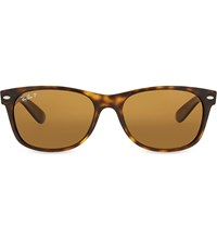 Ray Ban Rb2132 New Wayfarer Tortoiseshell Sunglasses