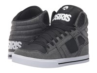 Osiris Clone Black Textile Black Men's Skate Shoes