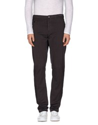 Pt01 Trousers Casual Trousers Men Dark Brown