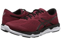 Asics 33 Fa Deep Ruby Black White Men's Running Shoes Red