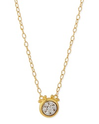 Celestial 24K Gold Diamond Pendant Necklace Gurhan