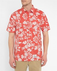Vans Red Aloha Short Sleeve Shirt