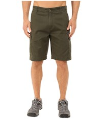 Woolrich Amblewood Shorts Olive Men's Shorts