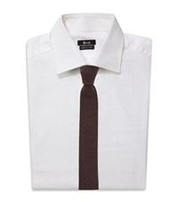 Harrods Of London Cashmere Knitted Tie Unisex