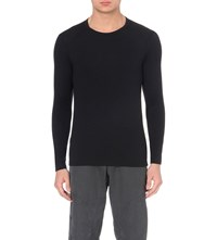Icebreaker Tech 260 Long Sleeved Crew Neck Top 001 Black