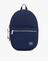 Herschel Lawson Cotton Twill Surplus Navy