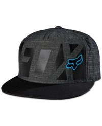 Fox Men's Commotion Snapback Hat Black