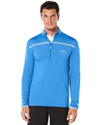 Callaway Golf Performance 1 4 Zip Long Sleeve Premium Base Palace Blue