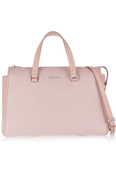 Miu Miu Two Tone Textured Leather Tote