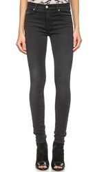 Ksubi High Waist Jeans Vin Black