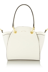 Maiyet Peyton Mini Leather And Canvas Shoulder Bag