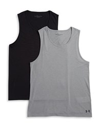 Under Armour 2 Pack Undershirt Tank Grey
