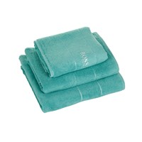 Hugo Boss Plain Turquoise Towel Bath Sheet