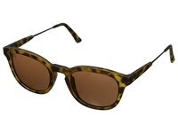 Electric Eyewear La Txoko Matte Spotted Tort M Brown Sport Sunglasses