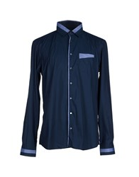 Hamaki Ho Shirts Shirts Men Dark Blue