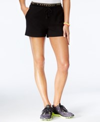 Material Girl Active Juniors' Graphic Shorts Only At Macy's Black
