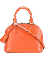 Louis Vuitton Vintage 'Alma Bb' Tote Yellow Orange