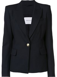 Balmain Pierre Classic Single Breasted Blazer Black