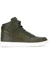 'Dunk Lux Sp' Sneakers Green