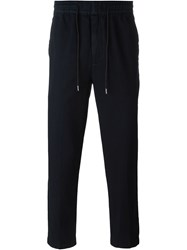Folk Washed Drawstring Trousers Blue
