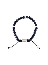 Nialaya Jewelry Beaded Bracelet Blue