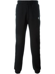 Marcelo Burlon County Of Milan Tapered Track Pants Black