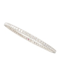 67Mm White Gold Diamond Eternity Bangle 8.45Ct Roberto Coin
