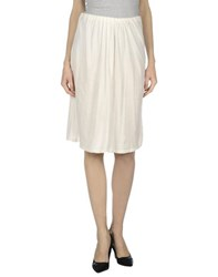 Guardaroba By Aniye By Skirts Knee Length Skirts Women Ivory