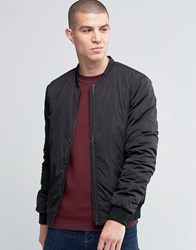 Selected Homme Light Weight Bomber Jacket Black
