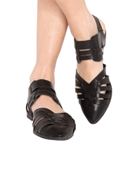 Pixie Market Cut Out Pointy Sandals