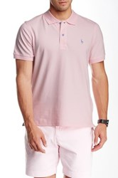 Tailorbyrd Short Sleeve Polo Pink