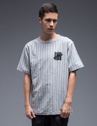 Undefeated Pinstripe Crewneck T Shirt