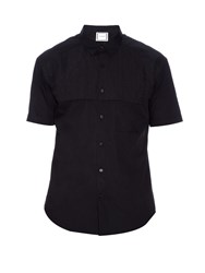 Wooyoungmi Embroidered Overlay Cotton Shirt