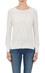 Skin Women's Cotton Slub Knit Sweater White