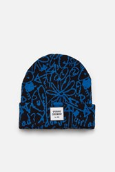 Opening Ceremony Scribbles Beanie Classic Blue Multi